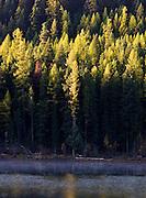 Salmon Lake in Fall.