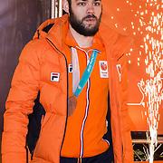 NLD/Amsterdam/20180226 - Thuiskomst TeamNL, Sjinkie Knegt