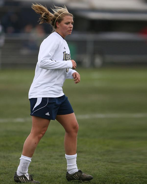 Notre Dame Women's Soccer 2008.Notre Dame (1) vs. Michigan State (0)