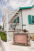 Wyannie Malone Museum in the tiny village of Hope Town, Elbow Cay Abacos, Bahamas.