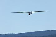 1951 Heini Dittmar Condor landing.