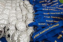 2016 Britbowl U16 Silver medals - Mandatory by-line: Jason Brown/JMP - 27/08/2016 - AMERICAN FOOTBALL - Sixways Stadium - Worcester, England - Kent Exiles v East Kilbride Pirates - BAFA Britbowl Finals Day