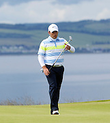 The Aberdeen Asset Management Scottish Open Golf Championship 2012 At Castle Stuart Golf Links..3rd Round Saturday 14-07-12.. .Francesco Molinari  on the 18th after a missed birdie putt   , during the 3rd Round of The Aberdeen Asset Management Scottish Open Golf Championship 2012 At Castle Stuart Golf Links. The event is part of the European Tour Order of Merit and the Race to Dubai....At Castle Stuart Golf Links, Inverness, Scotland...Picture Mark Davison/ ProLens PhotoAgency/ PLPA.Saturday 14th July 2012.