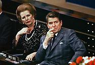 Reagan and Thatcher in 1982<br />Photo by Dennis Brack. bb77