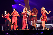 Ladies of Soul in Ziggo Dome<br /> <br /> Op de foto:  Trijntje Oosterhuis, Berget Lewis, Edsilia Rombley, Glennis Grace en Candy Dulfer