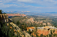 Farview Point, Bryce Canyon National Park,elevation 8819, Utah, USA.