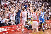 DESCRIZIONE : Reggio Emilia Lega A 2014-15 Grissin Bon Reggio Emilia - Banco di Sardegna Sassari playoff finale gara 7 <br /> GIOCATORE :Polonara Achille Diener Drake<br /> CATEGORIA : Esultanza Mani <br /> SQUADRA : GrissinBon Reggio Emilia<br /> EVENTO : LegaBasket Serie A Beko 2014/2015<br /> GARA : Grissin Bon Reggio Emilia - Banco di Sardegna Sassari playoff finale gara 7<br /> DATA : 26/06/2015 <br /> SPORT : Pallacanestro <br /> AUTORE : Agenzia Ciamillo-Castoria / Richard Morgano<br /> Galleria : Lega Basket A 2014-2015 Fotonotizia : Reggio Emilia Lega A 2014-15 Grissin Bon Reggio Emilia - Banco di Sardegna Sassari playoff finale gara7<br /> Predefinita :