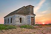 Taiban Church ruins, New Mexico
