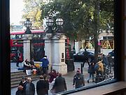 Charing cross Station, London. 8 November 2017