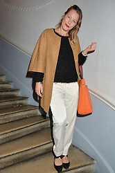 DAVINA HARBORD at the Tatler Little Black Book Party held at Home House Private Member's Club, Portman Square, London supported by CARAT on 6th November 2014.