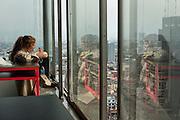 Piso 28, Torre Latinoamericana. 14 de mayo de 2015 (Foto: Prometeo Lucero)