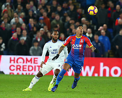 December 26, 2018 - London, England, United Kingdom - London, England - 26 December, 2018.Crystal Palace's Patrick van Aanholt.during English Premier League between Crystal Palace and Cardiff City at Selhurst Park stadium , London, England on 26 Dec 2018. (Credit Image: © Action Foto Sport/NurPhoto via ZUMA Press)