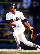 CHICAGO - 1987:  Jerry Hairston of the Chicago White Sox bats during an MLB game at Comiskey Park in Chicago, Illinois.  Hairston played for the White Sox from 1973-1977 and 1981-1989. (Photo by Ron Vesely)
