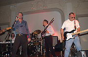 left to right: Valentine Lindsay, The Marquess of Worcester, Bill Lovelady and Hugh Dickens, Planet Potato, Bush Hall, 310 Uxbridge Rd. 17 June 2004. ONE TIME USE ONLY - DO NOT ARCHIVE  © Copyright Photograph by Dafydd Jones 66 Stockwell Park Rd. London SW9 0DA Tel 020 7733 0108 www.dafjones.com