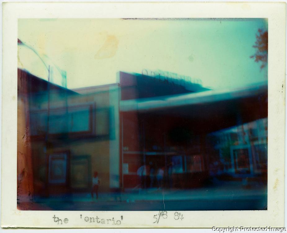 Ontario Theater, 1700 Columbia Rd. NW Washington, District of Columbia. May 1984