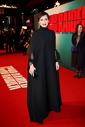Kristin Scott Thomas attending the Tomb Raider European Premiere held at Vue West End in Leicester Square, London.