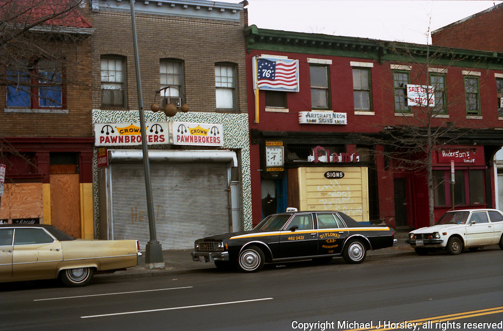 1728 14th Street NW Washington DC 1987<br /> Crown Pawnbrokers