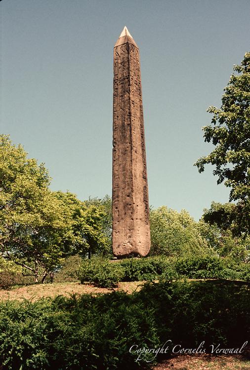 The Obelisk, aka Cleopatra's Needle, in Central Park, New York City, 1994
