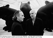 Brice Marsden & Francesco Clemente. Dia Fall Gala. Manhattan. 28 October 1993 film 93121f29a<br />© Copyright Photograph by Dafydd Jones 66 Stockwell Park Rd. London SW9 0DA Tel 0171 733 0108