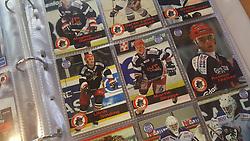 Rødovre Migthy Bulls<br /> <br /> Officielle Danske Hockey Trading Card. <br /> <br /> 1999-2000 Komplet Danske Ishockey Kort 225 stk.<br /> <br /> 129. Bill Morrisson<br /> 130. Michael Senderovitz<br /> 131. Michael Sauffaus<br /> 132. Christian Fabricius<br /> 133. Pavel Lazarev<br /> 134. Michael Eller<br /> 135. Søren Koziol<br /> 136. Boris Bykovsky<br /> 137. Igor Knyazev<br /> 138. Henrik Børner<br /> 139. Jannik Sønderby<br /> 140. Michael Thomsen<br /> 141. Martin Sørensen<br /> 142. Anatolij Chistyakov<br /> 143. Filip Faurholm<br /> 144. Ulrich Hansen<br /> 145. Magnus Sundquist<br /> 146. Søren Lykke Jørgensen<br /> 147. Dennis Hørringsen<br /> 148. Ulrik Sinding<br /> 149. Martin Skygge<br /> 150. Rasmus Nielsen<br /> 151. Lars Bundgaard<br /> <br /> Begrænset komplet sæt på lager. Kontakt: mail@nhcfoto.dk eller tlf. 40277826