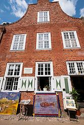 Traditional Dutch style house in Dutch Quarter in Potsdam Brandenburg Germany