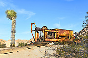 Rusted Equipment at Keys Ranch Joshua Tree National Park