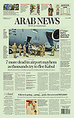 August 23, 2021 - ASIA-PACIFIC: Front-page: Today's Newspapers In Asia-Pacific