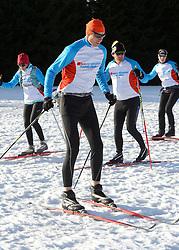 29-01-2016 DUI: Training BvdGF voor de Vasaloppet, Oberhof<br /> Vandaag begon de laatste Vasaloppet training in Oberhof. 26 deelnemers gaan begin maart de 90 km lange Vasaloppet langlaufen /