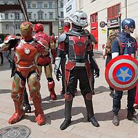 Captain America 3 premiere 2016