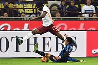 Gervinho Roma, Jeison Murillo Inter <br /> Milano 31-10-2015 Stadio Giuseppe Meazza / San Siro Football Calcio Serie A 2015/2016 Inter - AS Roma Foto Andrea Staccioli / Insidefoto