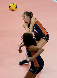 01-10-2014 ITA: World Championship Volleyball Servie - Nederland, Verona<br /> Nederland verliest met 3-0 van Servie en is kansloos voor plaatsing final 6 / Anne Buijs