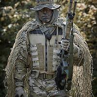 LITTLE FALLS, MN - SEPTEMBER 22: SWAT teams drill at Camp Ripley during the MTOA three day training exercise on September 20, 2014 in Little Falls, Minnesota. (Photo by Adam Bettcher) ©2014 Adam Bettcher