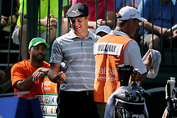 March 10, 2017 - Palm Harbor, Florida, U.S. - DOUGLAS R. CLIFFORD   |   Times.Bryson DeChambeau prepares to tee at hole #1 while playing in the second round of the Valspar Golf Championship at Innisbrook Resort and Golf Club's Copperhead Course on Thursday (3/9/17) in Palm Harbor. (Credit Image: © Douglas R. Clifford/Tampa Bay Times via ZUMA Wire)