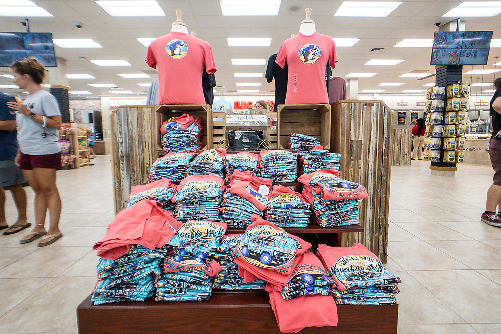 Inside the Buc-ee's travel center at Exit 144 off Interstate 75 in Warner Robins, Georgia on Tuesday, July 20, 2021. Copyright 2021 Jason Barnette