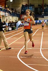 NSAF 2014 New Balance Nationals Indoor, girls Mile, Alexa Efraimson