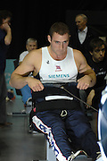 Birmingham, GREAT BRITAIN,  Adaptive classes, Tom AGGAR, competing at the British Indoor Rowing Championships, [BIRC]. [Ergo Championships] National Indoor Arena. West Midlands 18/11/2007 [Mandatory Credit Peter Spurrier/Intersport Image.....