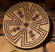 Yavapai basket, Cameron Trading Post, Native American Art Gallery, Arizona