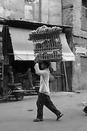 Egypt . Cairo : street life in Darb al Ahmar area. historic Cairo