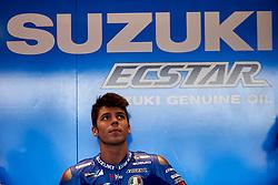 November 20, 2018 - Valencia, Spain - Joan Mir (36) of Spain abd Team Suzuki Ecstar  during the tests of the new MotoGP season 2019 at Ricardo Tormo Circuit in Valencia, Spain on 20th Nov 2018  (Credit Image: © Jose Breton/NurPhoto via ZUMA Press)