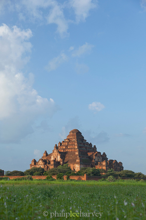 Dhammayangyi Temple, one of the largest in the ancient city of Bagan, Myanmar
