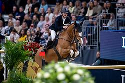 DEVOS Pieter (BEL), Apart<br /> Göteborg - Gothenburg Horse Show 2019 <br /> Longines FEI World Cup™ Final I<br /> Int. jumping competition - speed and handiness<br /> Longines FEI Jumping World Cup™ Final and FEI Dressage World Cup™ Final<br /> 04. April 2019<br /> © www.sportfotos-lafrentz.de/Stefan Lafrentz