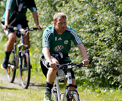 19.07.2011, Bad Kleinkirchheim, AUT, Fussball Trainingscamp VFL Wolfsburg, im Bild Patrick Ochs , EXPA Pictures © 2011, PhotoCredit: EXPA/Oskar Hoeher
