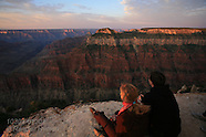 13: GRAND CANYON BRIGHT ANGEL POINT VISITORS