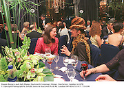 Maggie Burgess and Judy Blame. Duckworth Centenary Dinner. Dorchester, London<br />14/10/98<br />© Copyright Photograph by Dafydd Jones<br />66 Stockwell Park Rd. London SW9 0DA<br />Tel 0171 733 0108