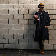 Football Life: Dayvon Ross.  Lifestyle photoshoot with NFL wide receiver, Dayvon Ross in Torrance, California on March 10th, 2016.  ©Michael Der, All Rights Reserved.  Please contact Michael Der for all licensing requests.
