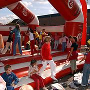Winkelcentrum Holleblok Huizen bestaat 25 jaar, kindermiddag