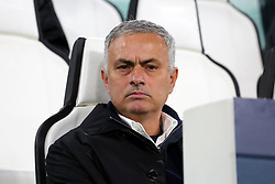 November 7, 2018 - Turin, Piedmont, Italy - Jos Mourinho, head coach of Manchester United FC,  before the UEFA Champions League match between Juventus FC and Manchester United FC,  at Allianz Stadium on November 07, 2018 in Turin, Italy..Juventus FC lost 1-2 against Manchester United. (Credit Image: © Massimiliano Ferraro/NurPhoto via ZUMA Press)