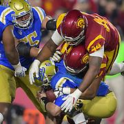USC Track & Field beats UCLA in a dual meet held at Drake Stadium.