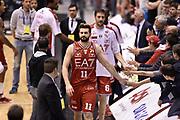 DESCRIZIONE : Milano Lega A 2014-15 <br /> EA7 Olimpia Milano - Acea Virtus Roma <br /> GIOCATORE : Linas Kleiza<br /> CATEGORIA : esultanza post game mani <br /> SQUADRA : EA7 Olimpia Milano<br /> EVENTO : Campionato Lega A 2014-2015 <br /> GARA : EA7 Olimpia Milano - Acea Virtus Roma<br /> DATA : 12/04/2015<br /> SPORT : Pallacanestro <br /> AUTORE : Agenzia Ciamillo-Castoria/GiulioCiamillo<br /> Galleria : Lega Basket A 2014-2015  <br /> Fotonotizia : Milano Lega A 2014-15 EA7 Olimpia Milano - Acea Virtus Roma