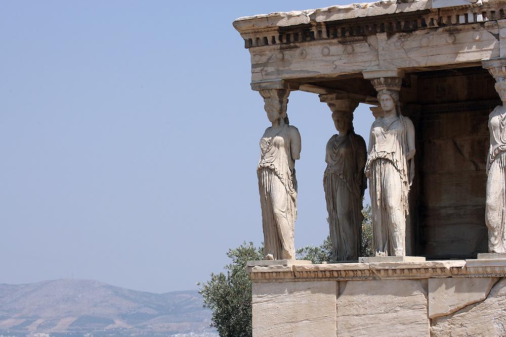 THE ERECHTHEION, ATHENS GREECE